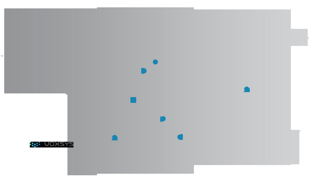 Voxsys no mundo